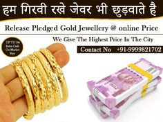 If you have some old and broken silver and gold jewelry then you can exchange if for awesome cash. Cash for your Gold offering the worth price for your unused ornaments. Visit the outlet or call our helpline number to avail free home pickup facility. Sell Your Gold, Sell Gold, Today Gold Price, Cash Cash, New Business Ideas, Gold Rate, Platinum Jewelry, Hand Jewelry, Silver Prices