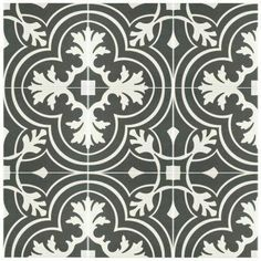 somertile 13x13-inch faventia azul ceramic floor and wall tile