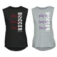 Play It Love it Live it Soccer t-shirt