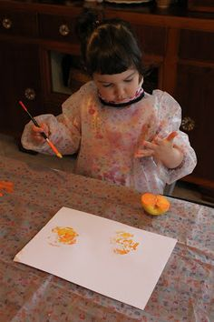 Shaulalala: pittura frutta e verdura...Munari docet