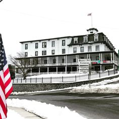 Historic Sussex Inn 1843 Sussex New Jersey.