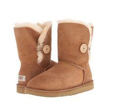 UGG Australia Women\u0027s Bailey Button Boots 5803 Black Chestnut Chocolate Grey