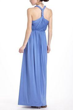 Totally digging the back detail of this Greek inspired Padma Maxi Dress - Anthropologie.com