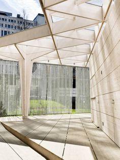arquitectonico Gallery of World Design Capital Helsinki 2012 Pavilion / Aalto University Wood Studio - 4 - Hotel Canopy, Deck Canopy, Window Canopy, Canopy Curtains, Backyard Canopy, Canopy Bedroom, Canopy Outdoor, Canopies, Tree Canopy