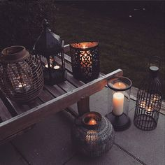Candles and Candle Holders make every occasion special . If you're a fan of celebrity chefs who always seem to have flawless table settings, why not try them out for yourself? Candle Meaning, Garden Candles, Led Candles, Lanterns, Candle Holders, Cozy, Exterior, Patio, Lights