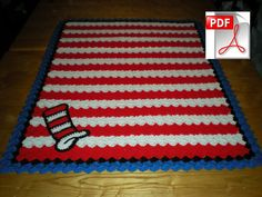 This is a listing for a pdf to create a dr seuss blanket of your own. If you have any questions please message me.