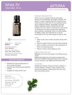 White Fir Essential Oil http://mydoterra.com/healthyliving15