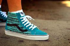 """KickItFresh Sneaker Photo Blog: VANS SK8-HI VAN DOREN """"TEAL"""""""