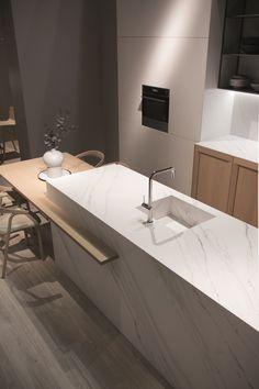 TOUCHÉ ITOPKER Porcelain stoneware kitchen worktop by INALCO - INDUSTRIAS ALCORENSES CONFEDERADAS