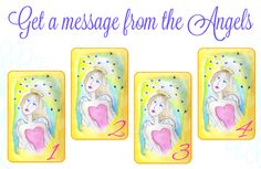 Get a message from an Angel. Pick a card :)