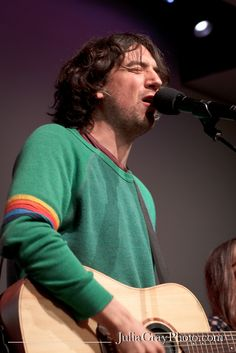 Gary Lightbody! THE man behind Snow Patrol, Tired Pony, and The Reindeer Section