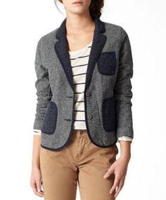 Levis tweed blazer