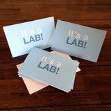"""It's a Lab"" Announcements - Boys! by Labradors.com  #puppy #labrador"