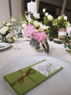 Table details. Nature wedding theme