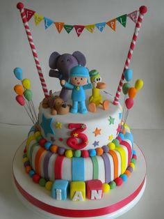 Happy Birthday Kids, 1st Birthday Cakes, Baby Girl First Birthday, 1st Boy Birthday, Boy Birthday Parties, Birthday Party Decorations, Birthday Ideas, Themed Cakes, Cute Cakes