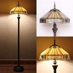 European Style Tiffany Floor Lamp Stained Glass Baroque Sunflower Stand Lampe Living Room Hotel Bar Decor Light Fixture