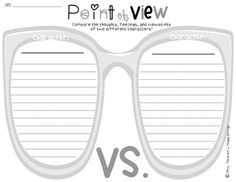 Free. Point Of View: Comparison Organizer