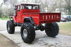 Awesome old Toyota land Cruiser