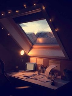 This window breathes inspiration to this writer's workspace.
