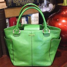 """AUTH KATE SPADE Exellent condition. Big size. 15""""x9""""! Check additional pics! No spots! No tear! Like a new! kate spade Bags Hobos"""