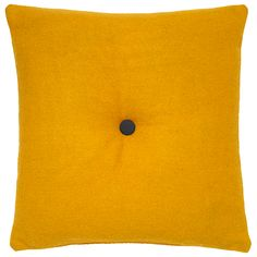 George Home Felt Buttonback Cushion - 43x43cm