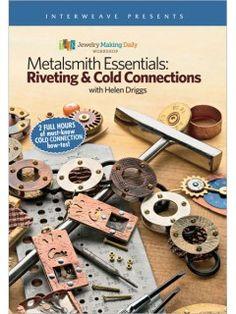 Metalsmith Fundamentos de remachado y conexiones Fría DVD   InterweaveStore.com