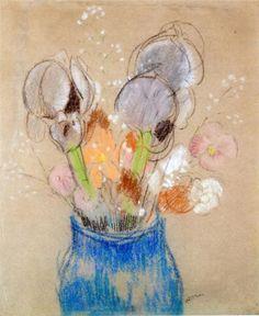 Bouquet of Flowers Odilon Redon