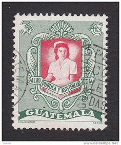 1950 Guatemala Nurse Tribute postage stamp