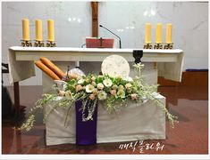 Altar Decorations, Corpus Christi, Ikebana, Flower Arrangements, Easter, Flowers, Blog, Home Decor, Church Altar Decorations