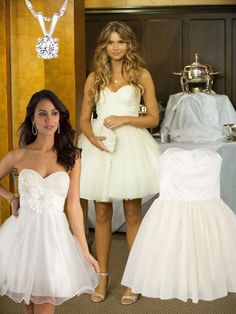 Indiana Evans White Prom Dress From Blue Lagoon