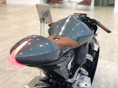 AMB 001 - Beautiful design, now make 002 road legal. Motorcycle Lights, Bobber Motorcycle, Moto Bike, Street Moto, Beer Bike, Motorbike Design, Futuristic Motorcycle, Sportbikes, Classic Bikes