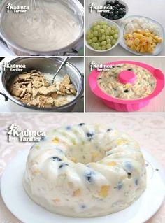 Kek Kalıbında Meyveli Muhallebi Tarifi en nefis nasıl yapılır? Kendi yaptığımız Kek Kalıbında Meyveli Muhallebi Tarifi'nin malzemeleri, kolay resimli anlatımı ve detaylı yapılışını bu yazımızda okuyabilirsiniz. Aşçımız: Sümeyra Temel