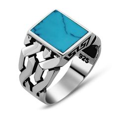 gold chains for men Square-Ferooza-Modern-Chain-Men-Ring - Square Modern Aqeeq Men Ring Hand Made Red Aqeeq Ring by Boutique Ottoman Turkish jewelry online store. Made in Turkey silver men rings with aqeeq stone. Mens Gemstone Rings, Mens Silver Rings, Silver Man, Mens Turquoise Rings, Jewelry Stores Near Me, Best Jewelry Stores, Gold Chains For Men, Turkish Jewelry, Square