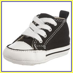 Converse Chuck Taylor First Star Black Textile Baby Soft Soles Shoes in Clothing, Shoes & Accessories, Baby & Toddler Clothing, Baby Shoes Baby Girl Converse, Cute Converse, Toddler Converse, Converse One Star, Converse Chuck Taylor, Crib Shoes, Baby Shoes, Baby Booties, Ring Bearer Suit