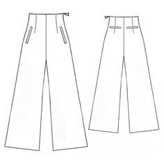 5155 Pants - Pantalons  > Lekala Bbbb