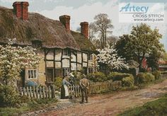 2052 Welford on Avon, Gloucester - Cross Stitch Chart