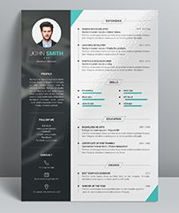 Portfolio Resume / CV Template Is The Creative, Clean, Modern And  Professional Resume Template