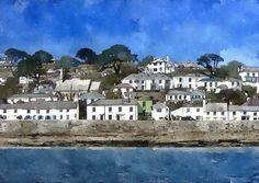 St Mawes, Cornwall, England - Trevor Harvey Art