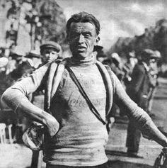 .....Ottavio Bottechia, Winner, TdF, 1925
