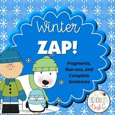 ZAP! is a fun and engaging way to have students practice any kind of skill from adding and subtracting to identifying fact and opinion statements. This particular ZAP! provides students practice with identifying complete sentences, sentence fragments, and run-on sentences.