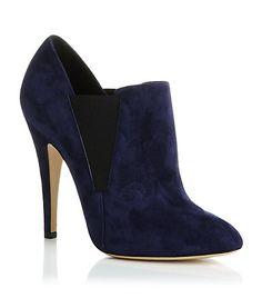 Casadei Suede Chelsea Boot - Midnight blue