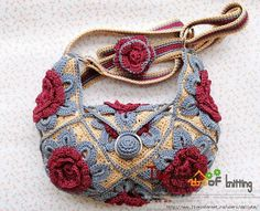 INSTANT PATTERN DOWNLOAD  Crocheted Purse / Bag by lollypoppers, $4. Description from pinterest.com. I searched for this on bing.com/images