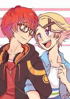Seven x Yoosung from Mystic Messenger