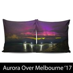 AURORA OVER MELBOURNE - CUSHION COVERS