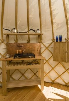 Most beautiful yurt in Britain romantic for couples