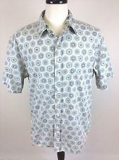 REYN SPOONER Shirt HAWAIIAN Muted FLORAL Print BUTTON Up SHORT Sleeve CAMP XL