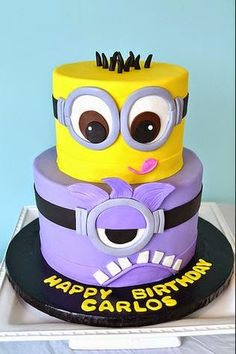 despicable me cake - Google Search