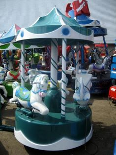This was the ultimate in coin operated rides- when your parents would agree.