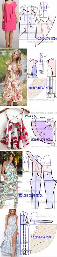 Alla Kramarenko Sewing Patterns Free, Sewing Tutorials, Clothing Patterns, Dress Patterns, Sewing Clothes, Diy Clothes, Clothes For Women, Maxi Skirt Tutorial, Make Your Own Clothes