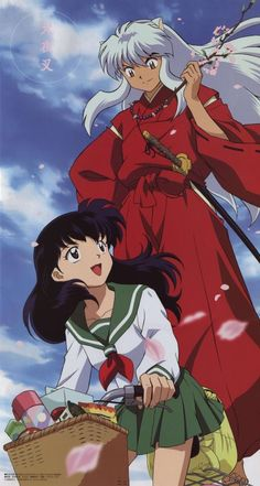 Inuyasha and Kagome slowly falling in love